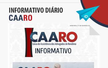CAARO - Boletim Informativo
